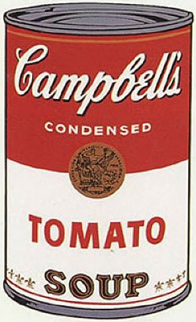 Campbell Andy Warhol