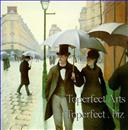 Gustave Caillebotte Paris Street; Rainy Day - Paris: A Rainy Day
