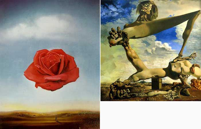 Salvador Dali Paintings of Surrealism, and Oil Painting Reproduction
