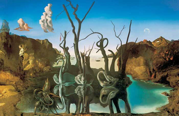 The elephants Dali