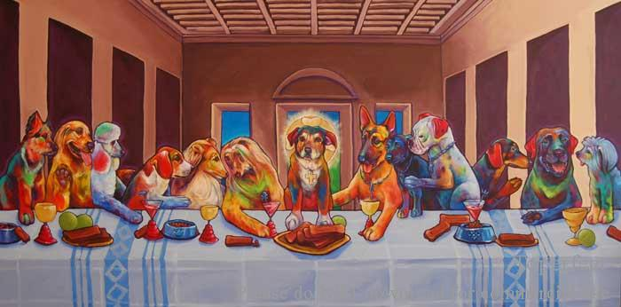 where is Last Supper painting