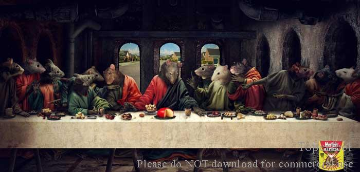 where is the painting of the Last Supper