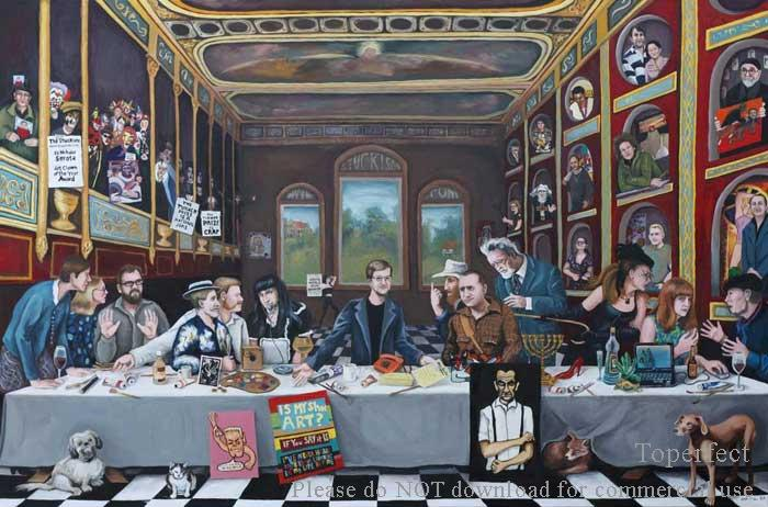 the Last Supper portrait