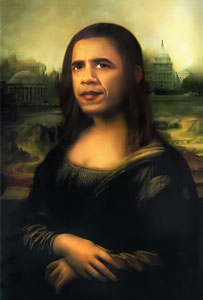 portrait of Monalisa