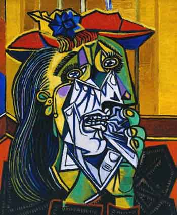 Picasso Paintings of Guernica and Oil Painting Reproduction