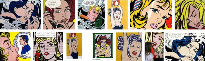 Roy Lichtenstein girls