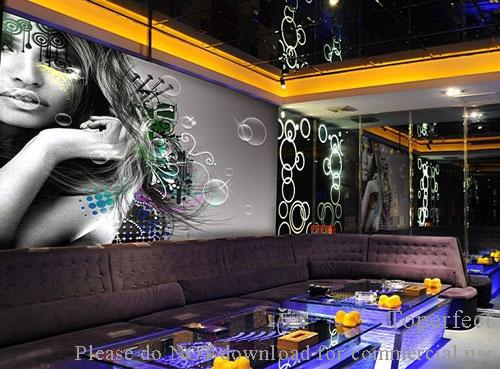 wall art paintings for KTV