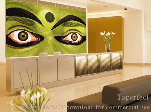 wall paintings art