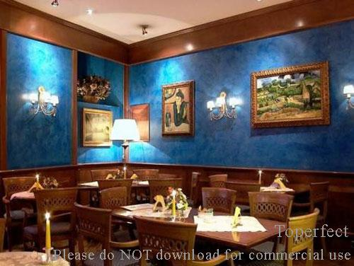 Restaurant wall art