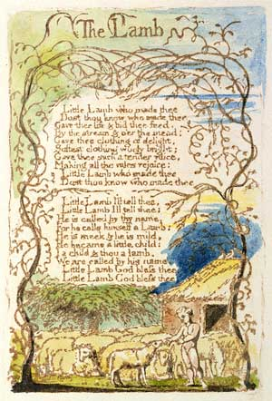 William Blake The Lamb