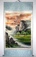 Chinese paintings of landscapes
