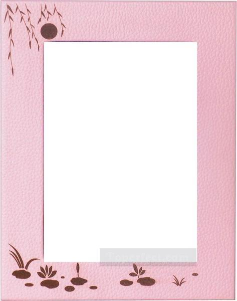 0PLF027 photographic leather frame