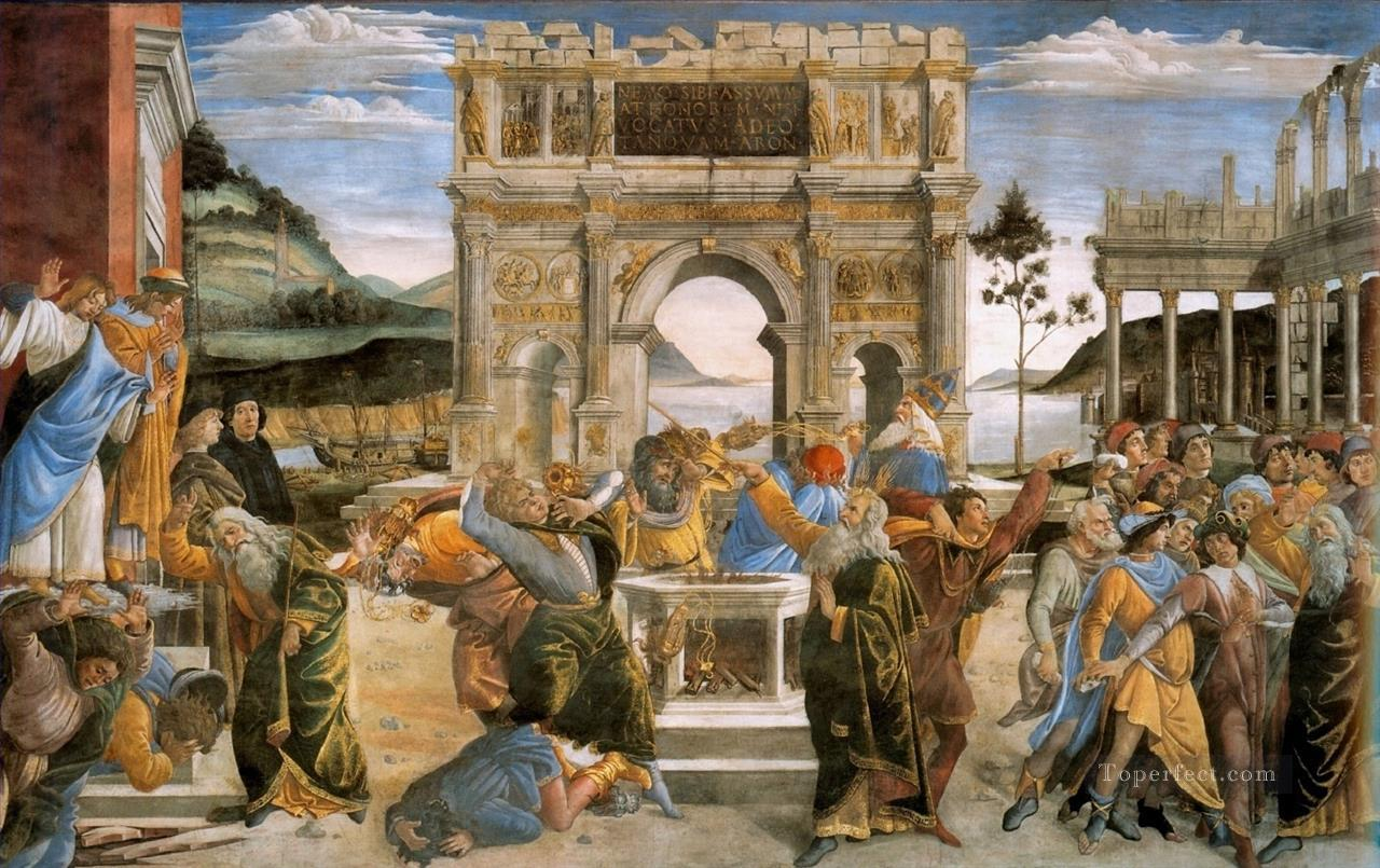 0 The Punishment of Korah Sandro Botticelli