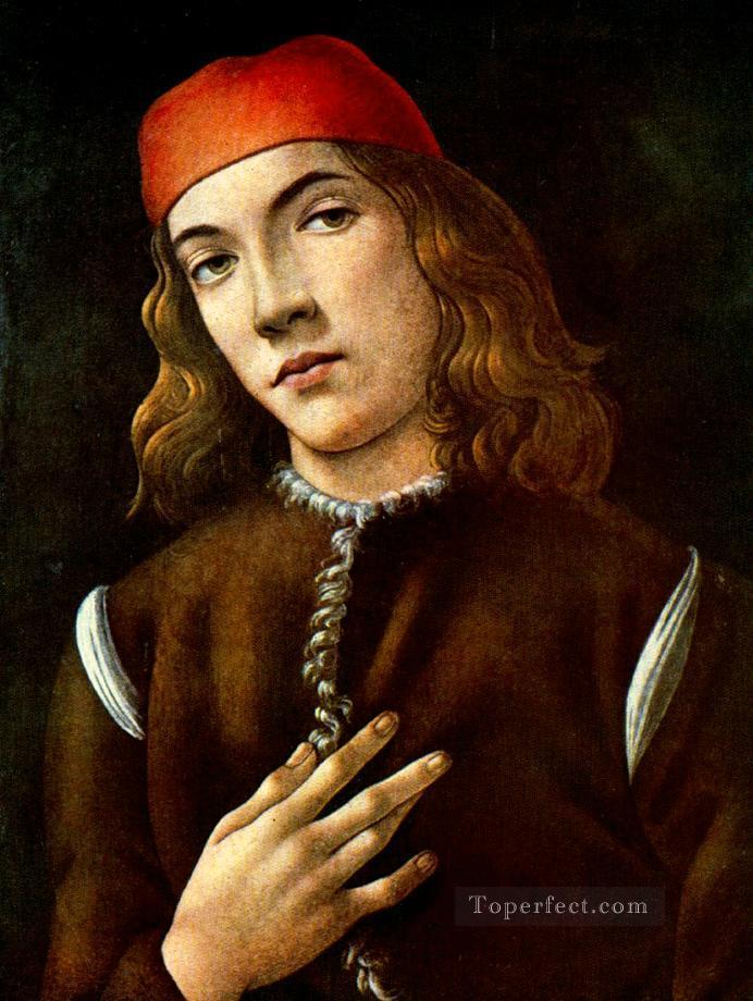 4 Portrait of a young man 1483 Sandro Botticelli