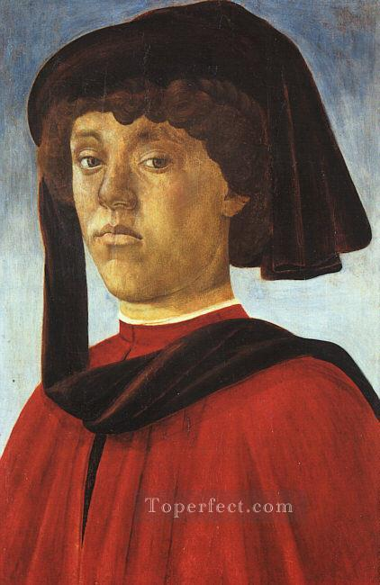 4 Portrait of a young man Sandro Botticelli