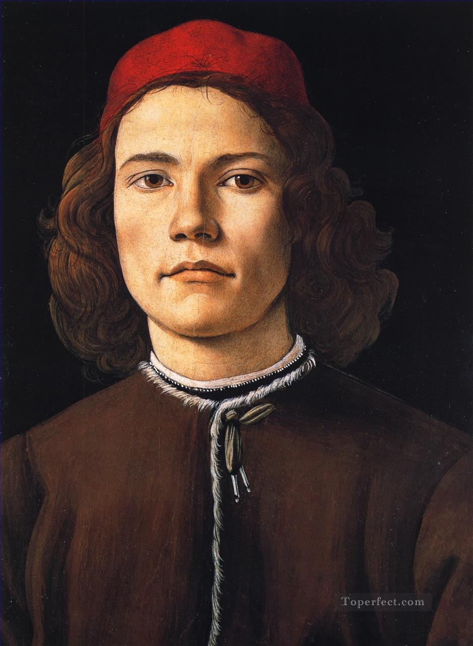 4 Sandro Portrait of a young man Sandro Botticelli