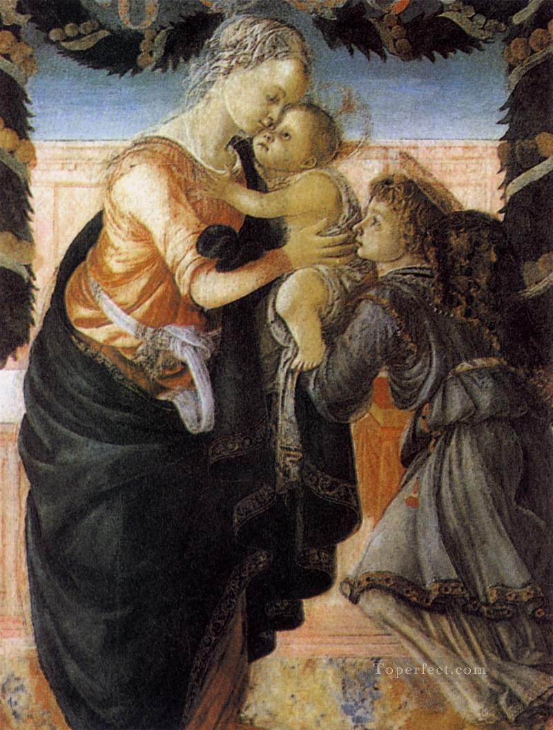 5 Madonna And Child With An Angel 2 Sandro Botticelli