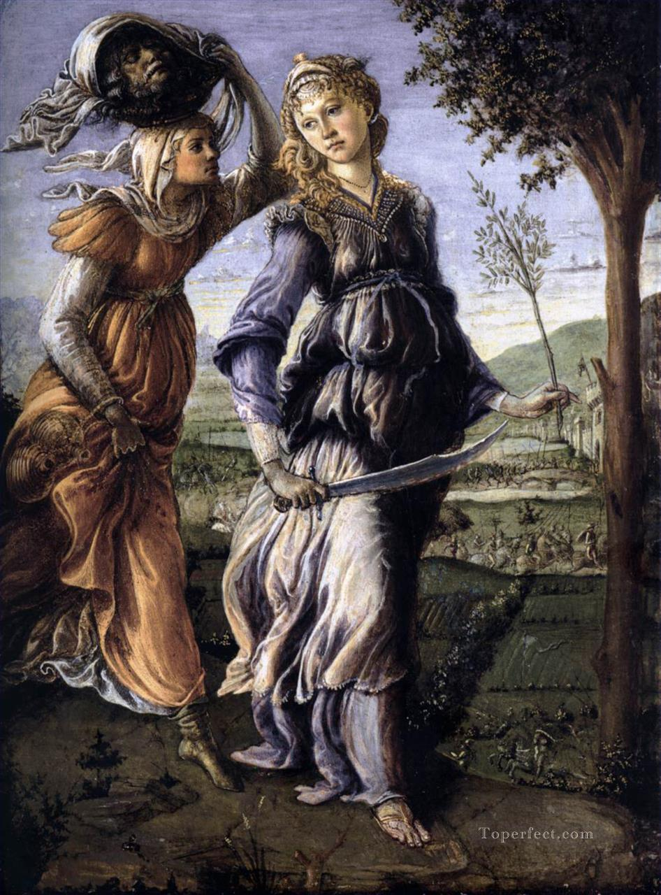 5 The Return Of Judith To Bethulia Sandro Botticelli