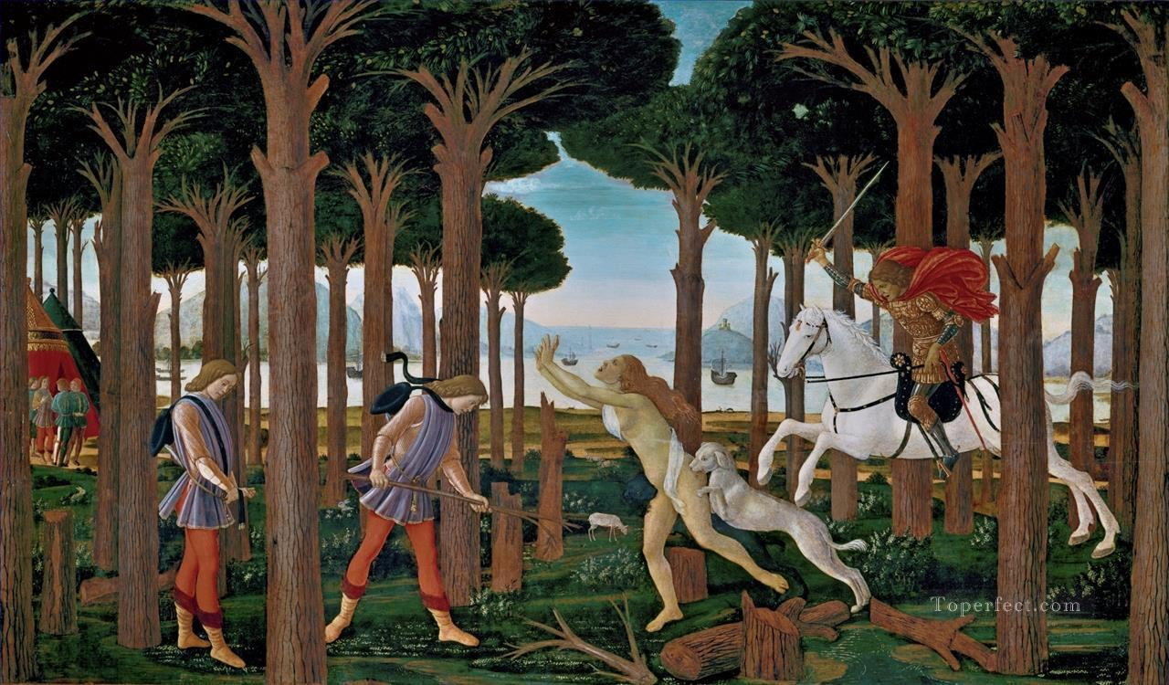 6 Nastagio first Sandro Botticelli