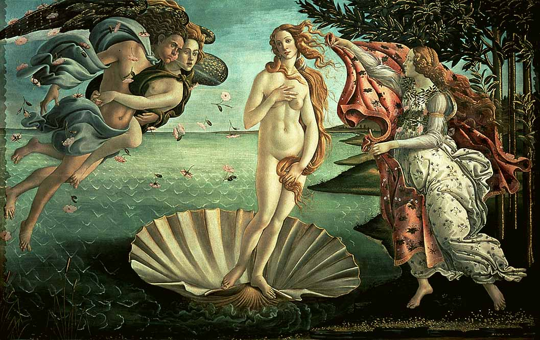 6 The Birth Of Venus Sandro Botticelli