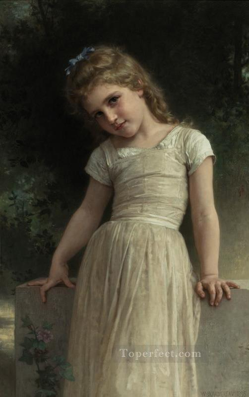 4 The Mischievous One Realism William Adolphe Bouguereau