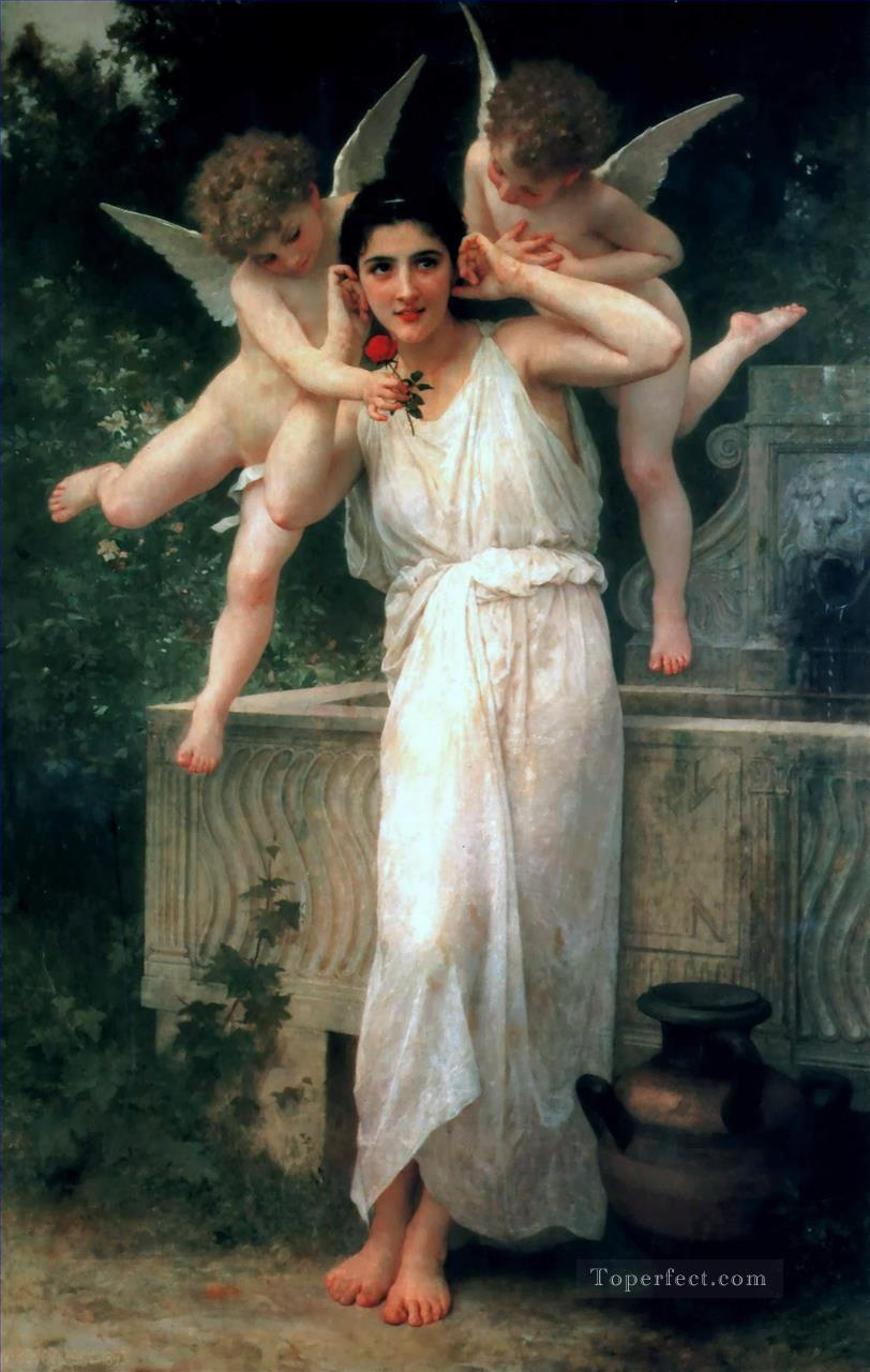 5 Jeunesse Realism angel William Adolphe Bouguereau