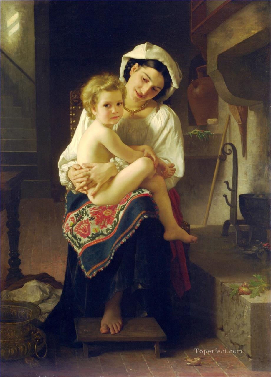 5 Le Lever Realism William Adolphe Bouguereau