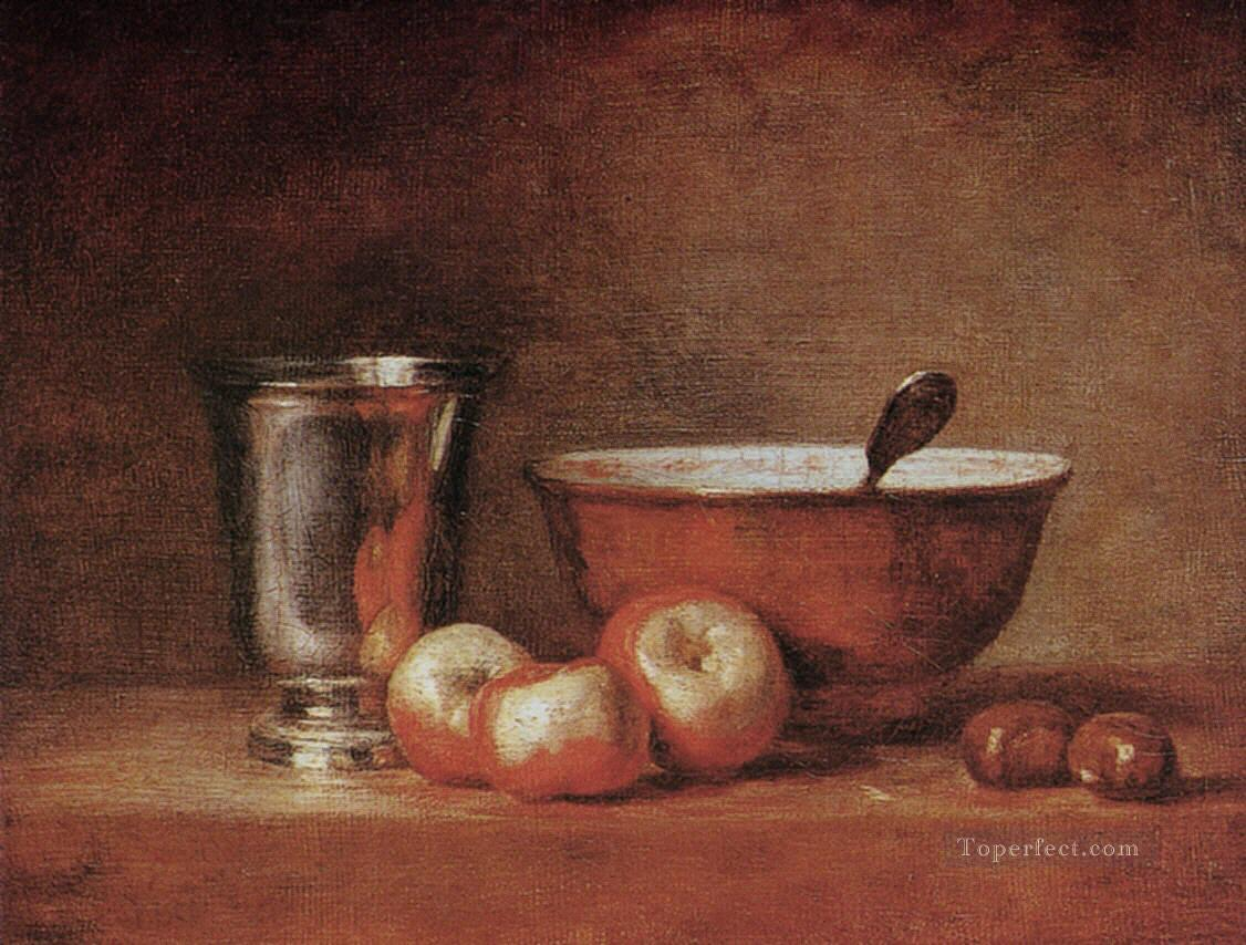 3 The silver cup still life Jean Baptiste Simeon Chardin