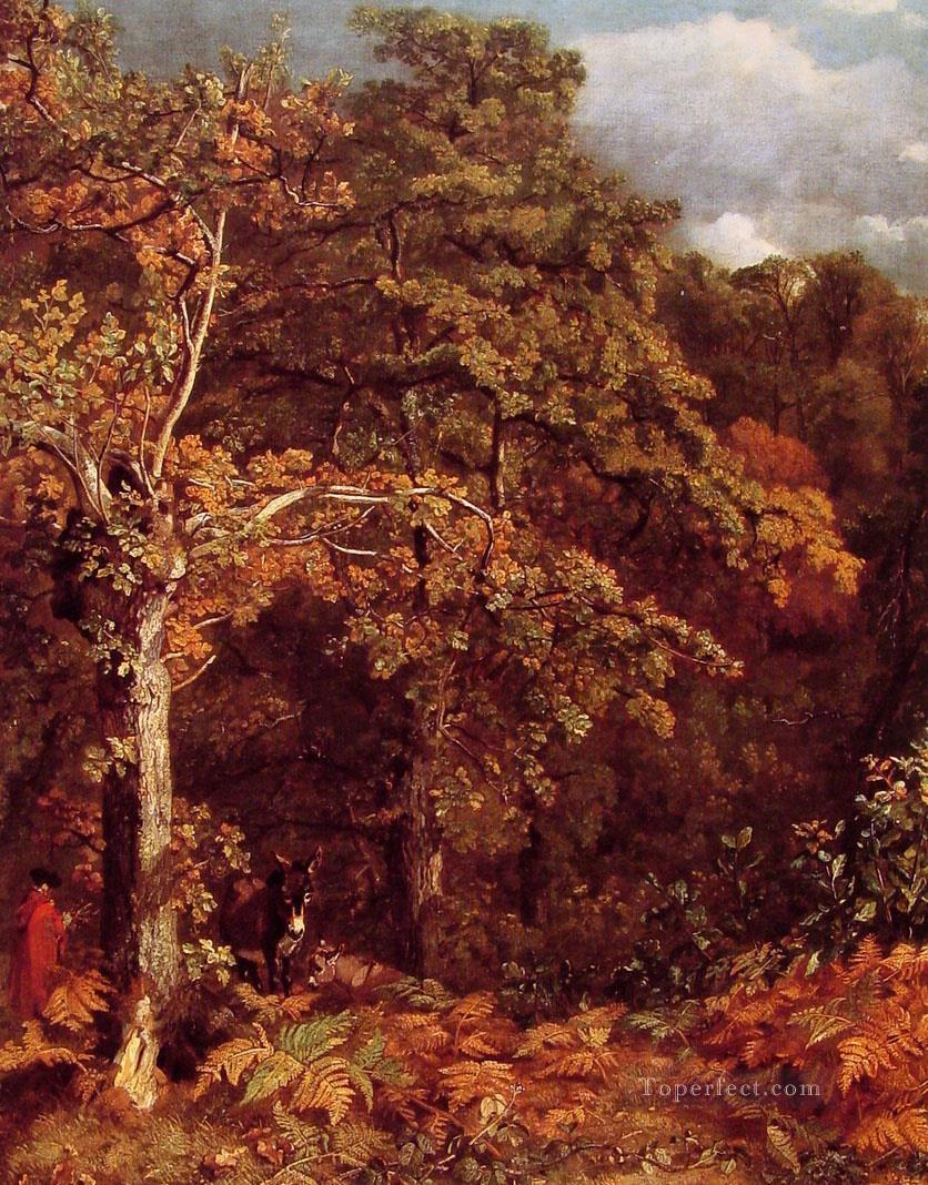 4 Wooded Landscape Romantic John Constable