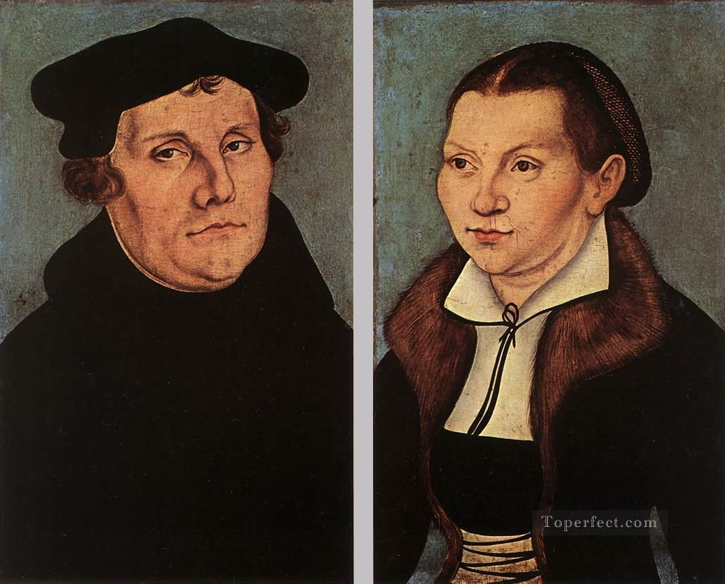 5 Portraits Of Martin Luther And Catherine Bore Renaissance Lucas Cranach the Elder