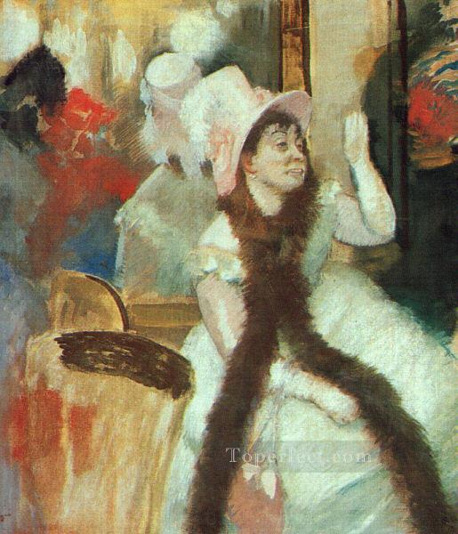 4 Portrait after a Costume Ball Portrait of Madame DietzMonnin Impressionism ballet dancer Edgar Degas