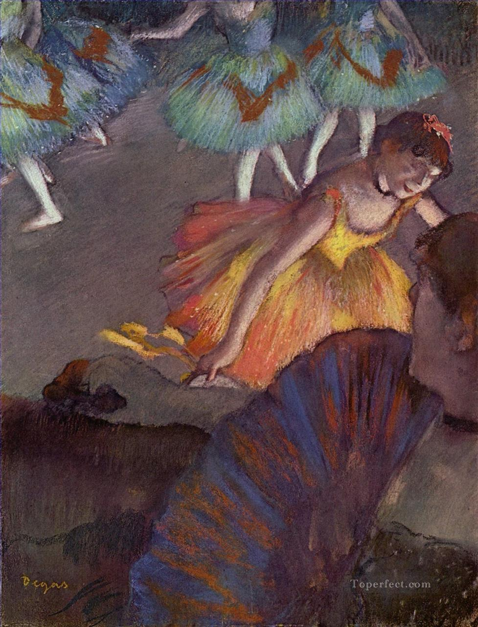 5 Ballerina and Lady with a Fan Impressionism ballet dancer Edgar Degas