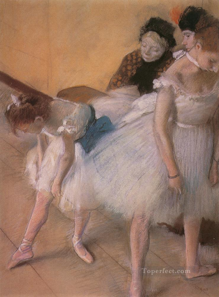 5 Before the Rehearsal 1880 Impressionism ballet dancer Edgar Degas
