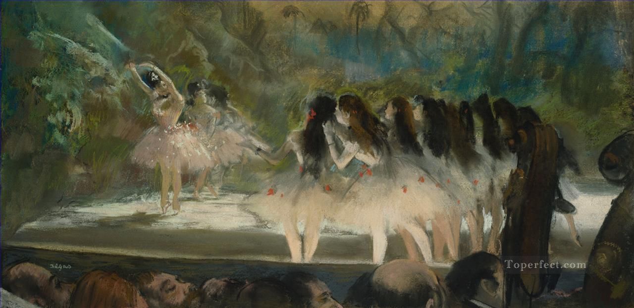 6 Ballet at the Paris Opera Impressionism ballet dancer Edgar Degas