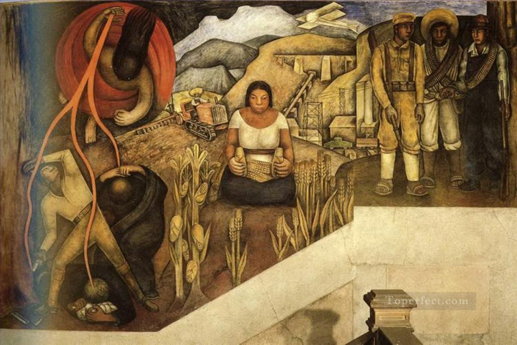 0 the mechanization ofthe country 1926 Diego Rivera