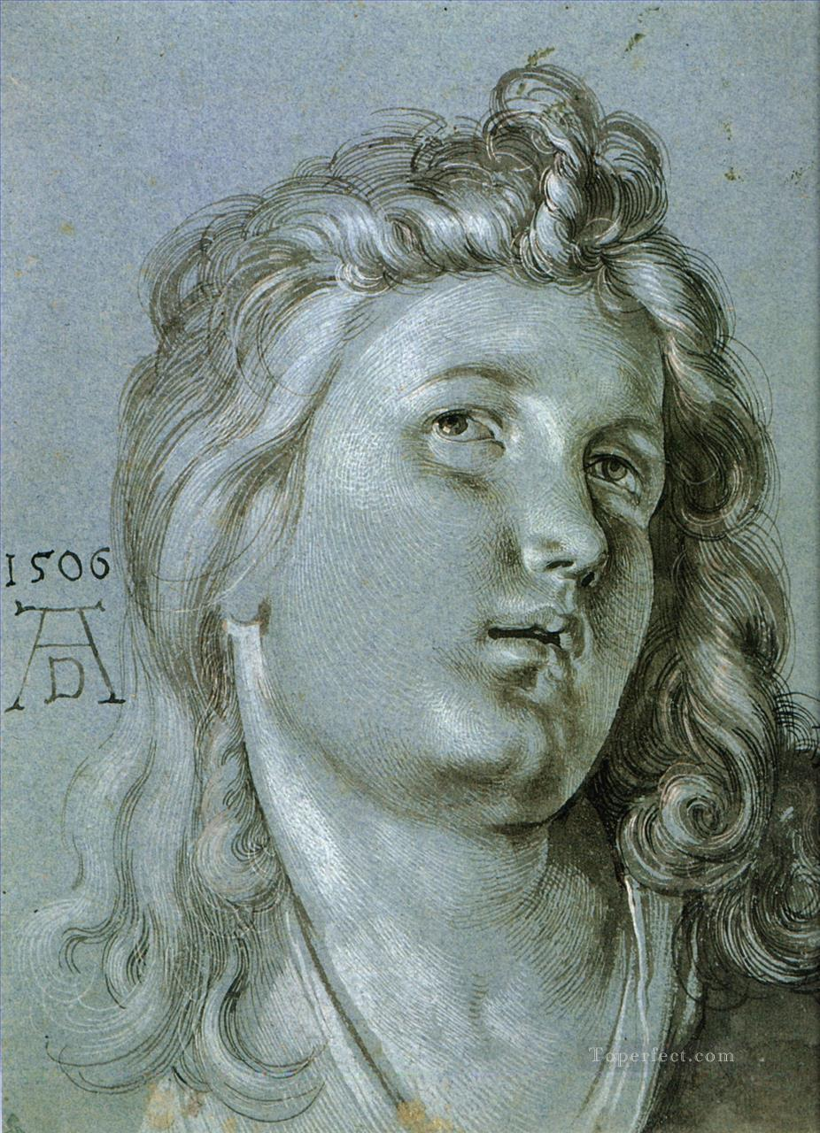 4 Head of an Angel Nothern Renaissance Albrecht Durer