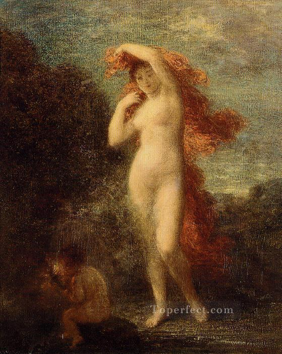 4 Venus and Cupid Henri Fantin Latour