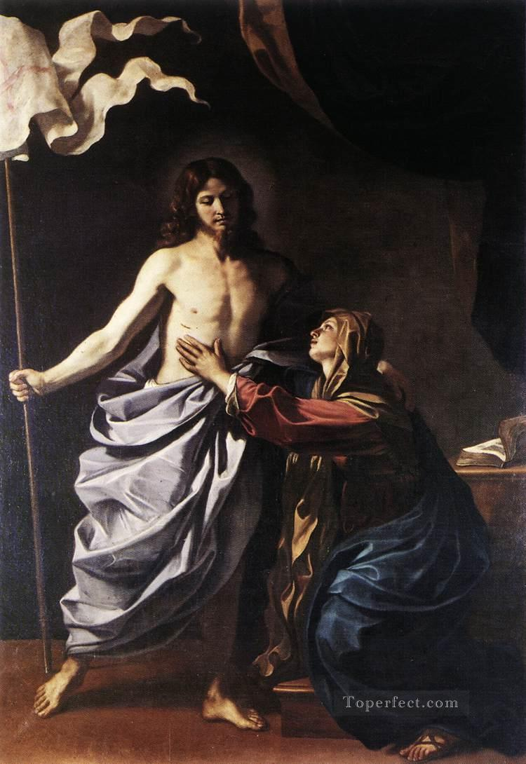 5 The Resurrected Christ Appears to the Virgin Baroque Guercino