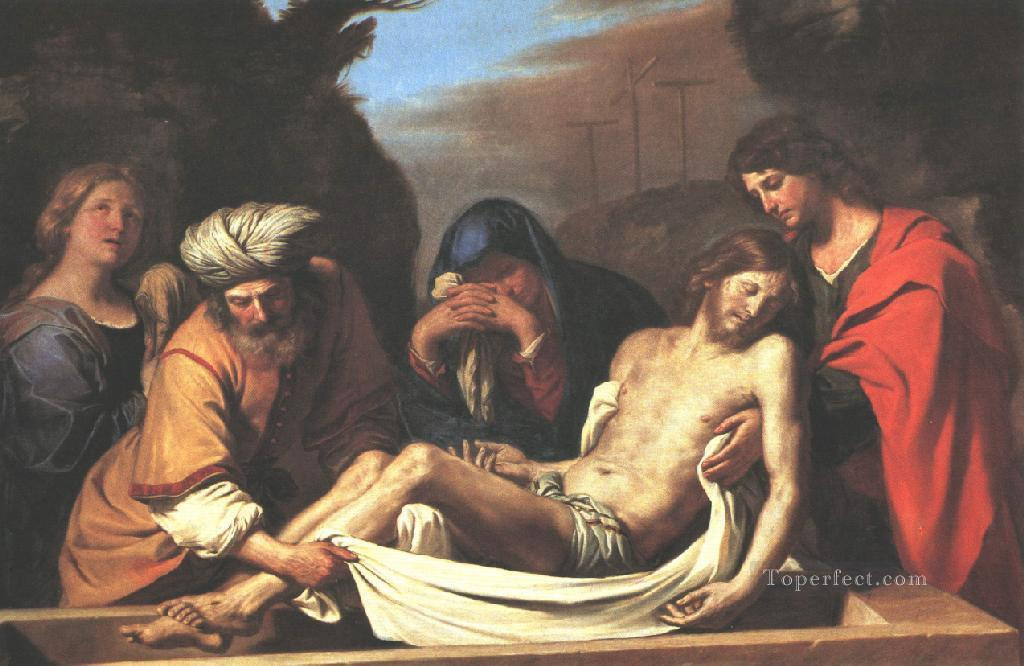 6 The Entombment of Christ Baroque Guercino
