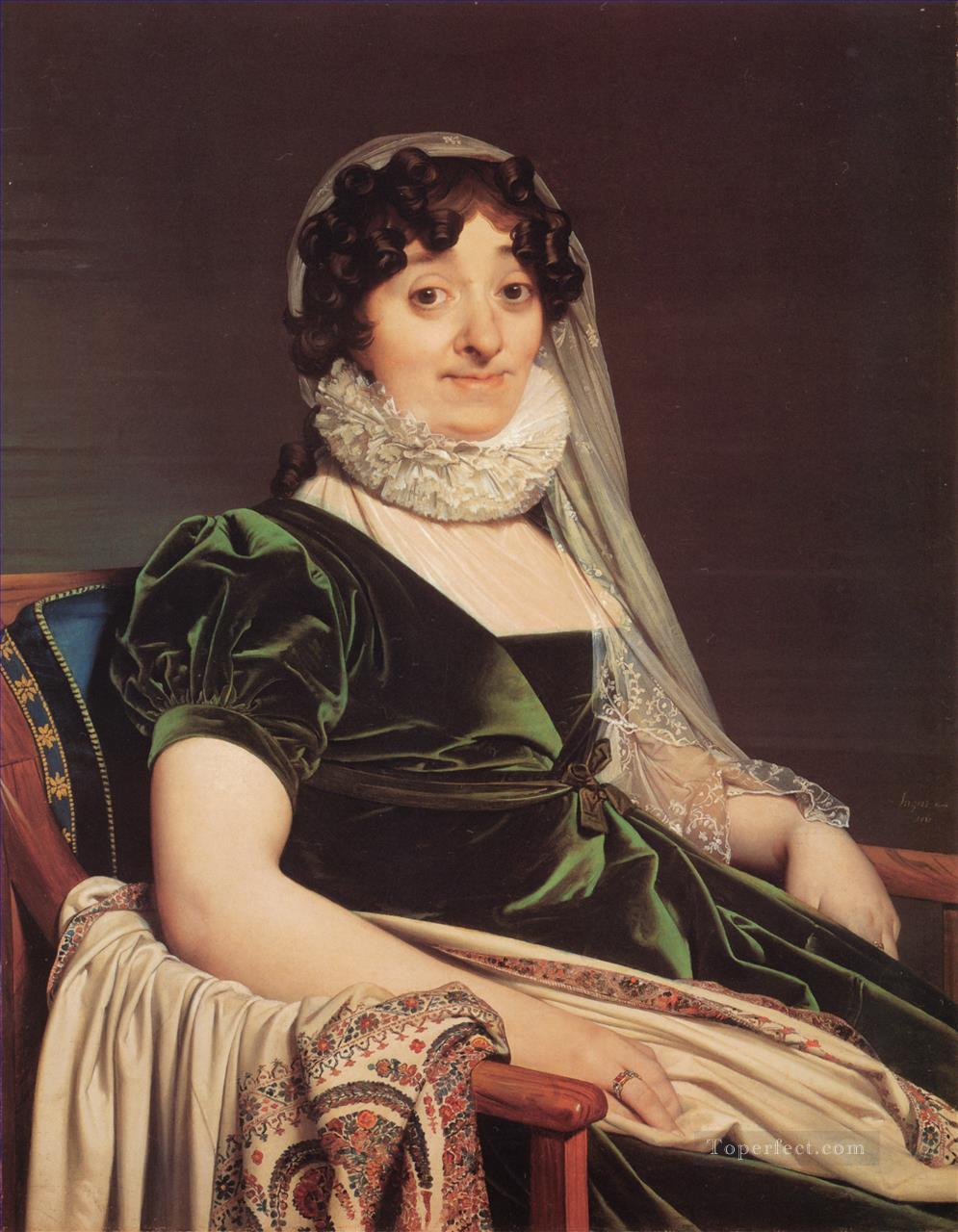 4 Comtess de Tournon Neoclassical Jean Auguste Dominique Ingres