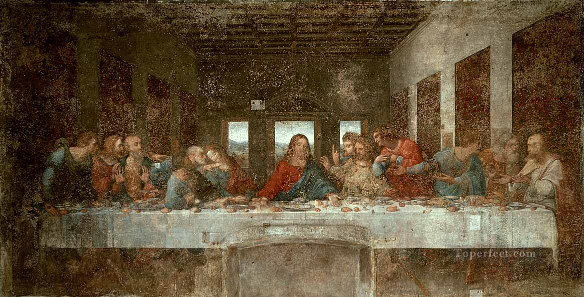 9 The Last Supper pre Leonardo da Vinci