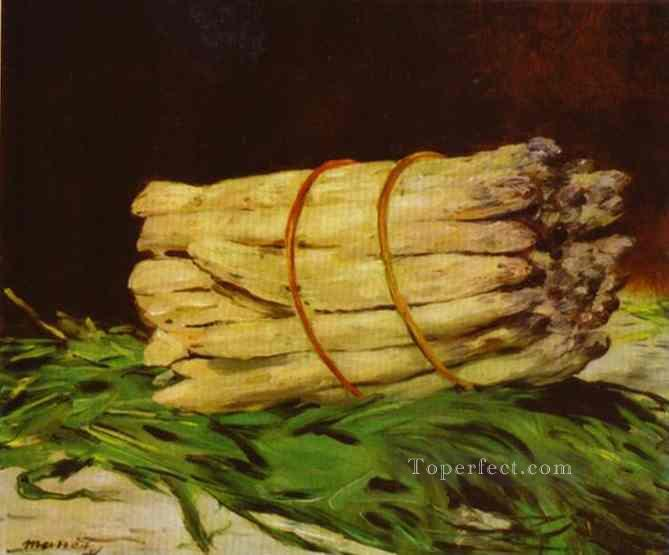 2 A Bunch Of Asparagus still life Impressionism Edouard Manet