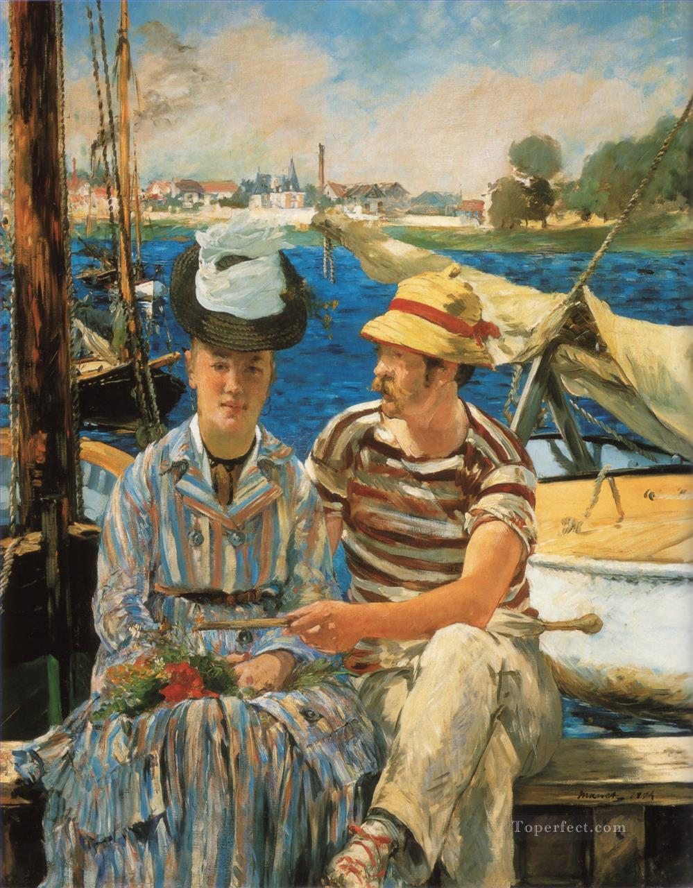 4 Argenteuil Realism Impressionism Edouard Manet