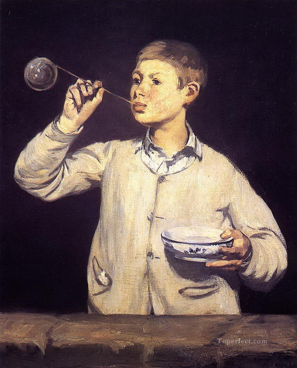 Boy Blowing Soap Bubbles Manet 4 Boy Blowing Bubbles Eduard