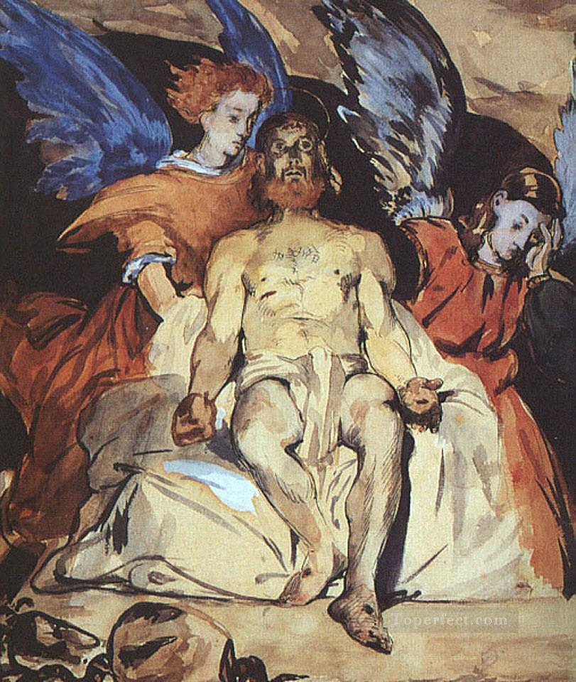 4 Christ with Angels Realism Impressionism Edouard Manet
