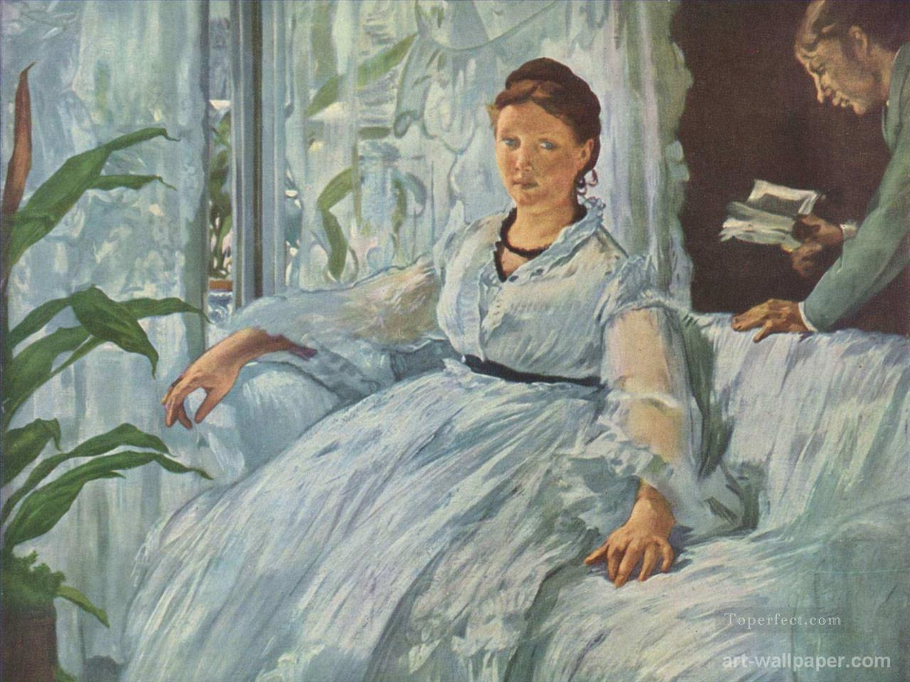 4 Reading Mme Manet and Leon Realism Impressionism Edouard Manet