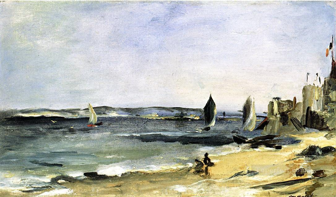 4 Seascape at Arcachon Eduard Manet