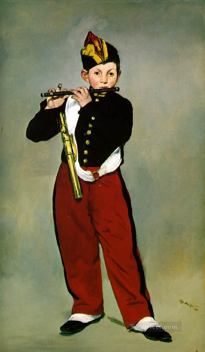 4 The Fifer Realism Impressionism Edouard Manet