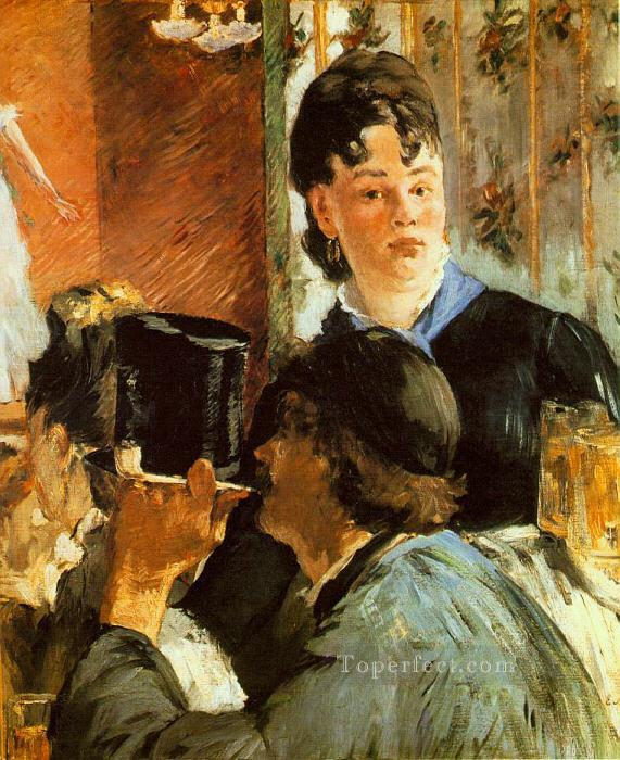 4 The Waitress Realism Impressionism Edouard Manet