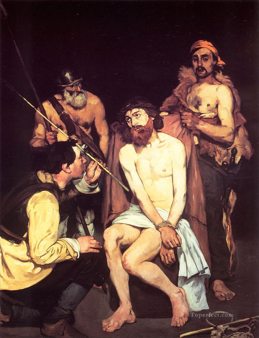 5 Jesus Mocked by the Soldiers Realism Impressionism Edouard Manet